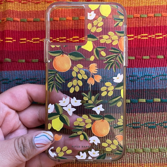 Rifle Paper Co phone case